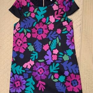 Tibi floral dress
